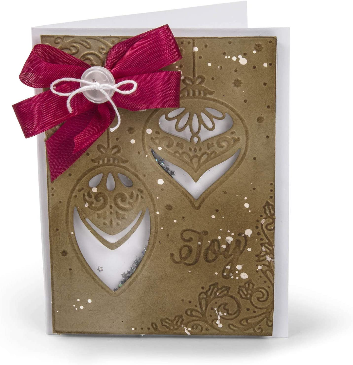 Magic of The Season by Courtney Chilson Sizzix Impresslits Embossing Folder Multicolor