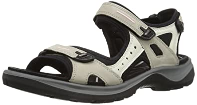 AtmosphereIce WhiteBlack Outdoor Sandalen Ecco Yucatan