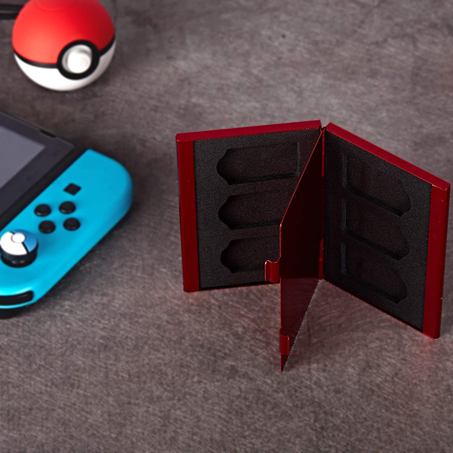 Amazon.com: Funlab Premium Game Card Case for Nintendo ...