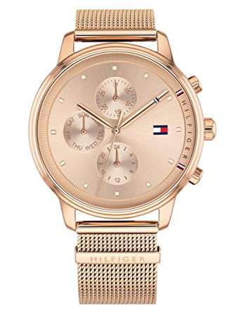 Tommy Hilfiger Rose Gold Stainless Steel Watch-1781907