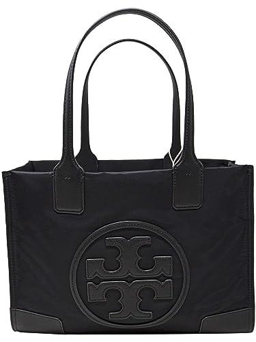 7f227ce774 Amazon.com: Tory Burch Ella Mini Ladies Nylon Tote Handbag 45211001, Black: Tory  Burch: Shoes
