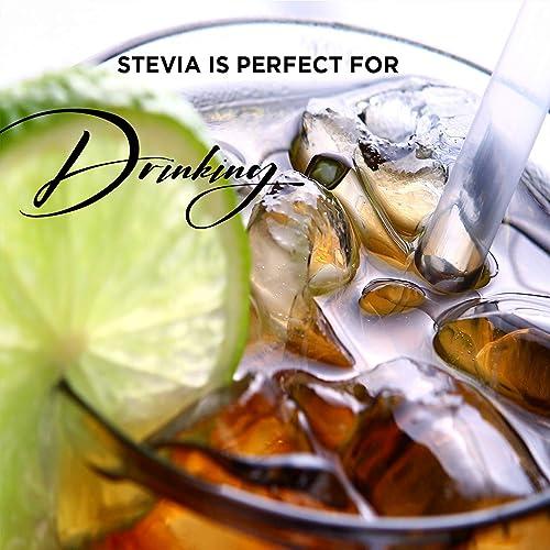 Whipped Cream PREMIUM QUALITY STEVIA DROPS ORGANIC LIQUID STEVIA SWEETENER BEST SUGAR SUBSTITUTE 100 PURE EXTRACT ALL NATURALLY SWEET NON BITTER,0 CALORIE,NON-GMO, DIABETIC KETO FRIENDLY 1oz