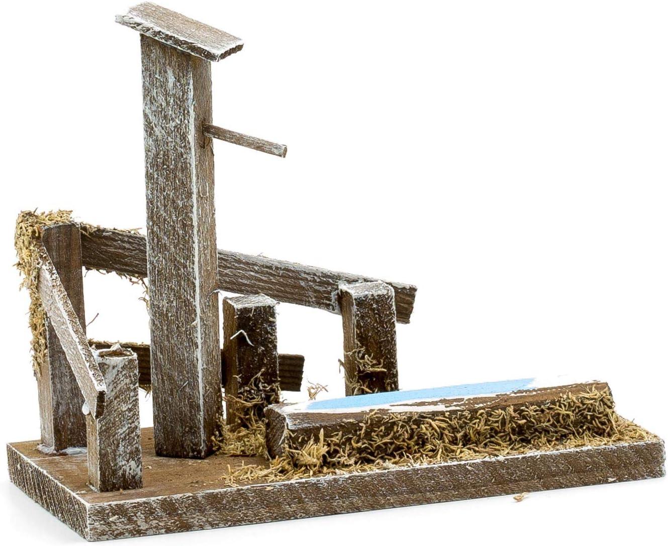 MAROLIN Brunnen mit Tr/änke zu 12cm Figuren