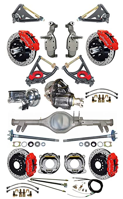 Amazon com: NEW SUSPENSION & BRAKE SET WITH CURRIE REAR END