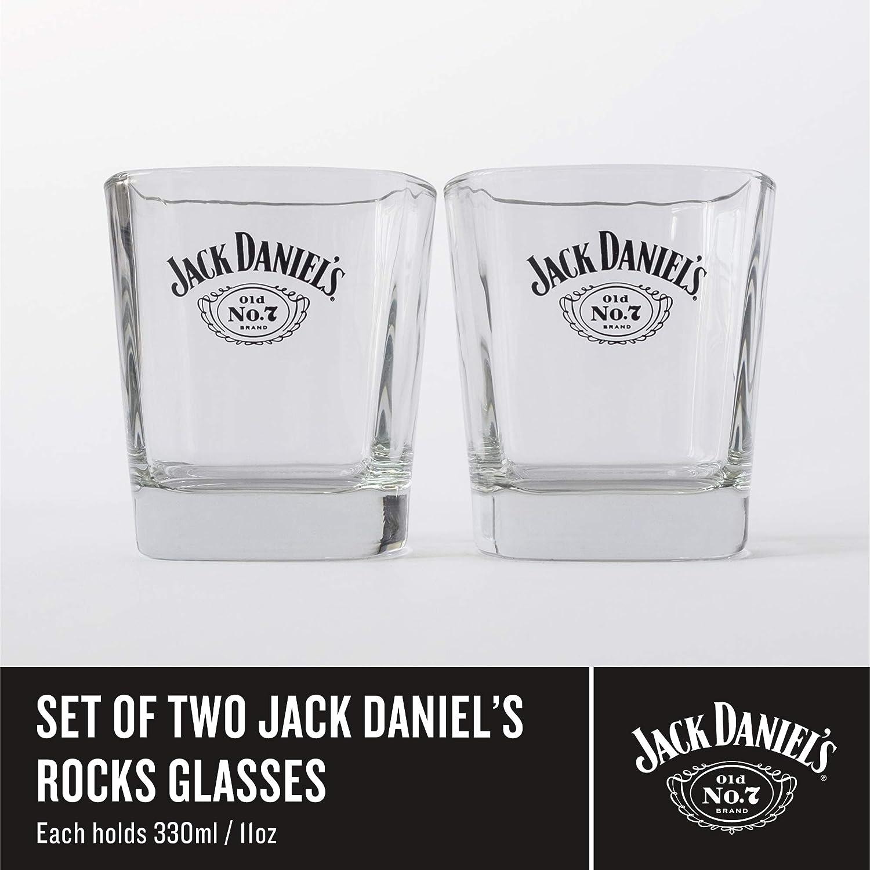 Tumbler Duo Vidrio Jack Daniels Old No 7