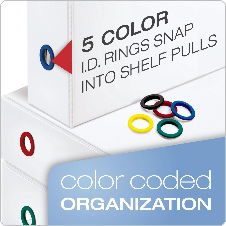 2-Inch Renewed 43120 White Cardinal FreeStand ClearVue Easy Open Locking Slant-D Ring Binder
