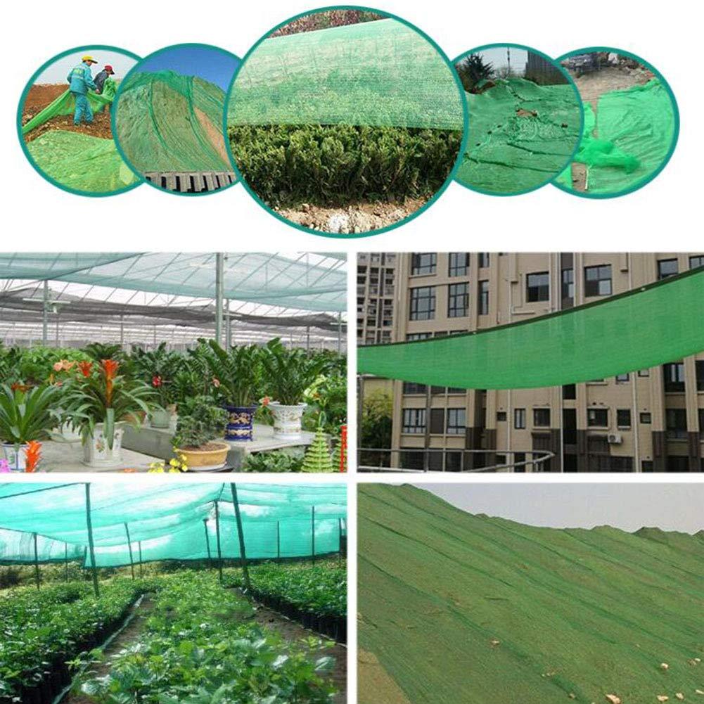 para Las Flores de Invernadero del Patio,6.6x6.6ft//2x2m AOHMG 85/% Sombra Solar Malla de ocultaci/ón Servicio Pesado Resistente a UV Sombra Solar Sombra Protector Solar