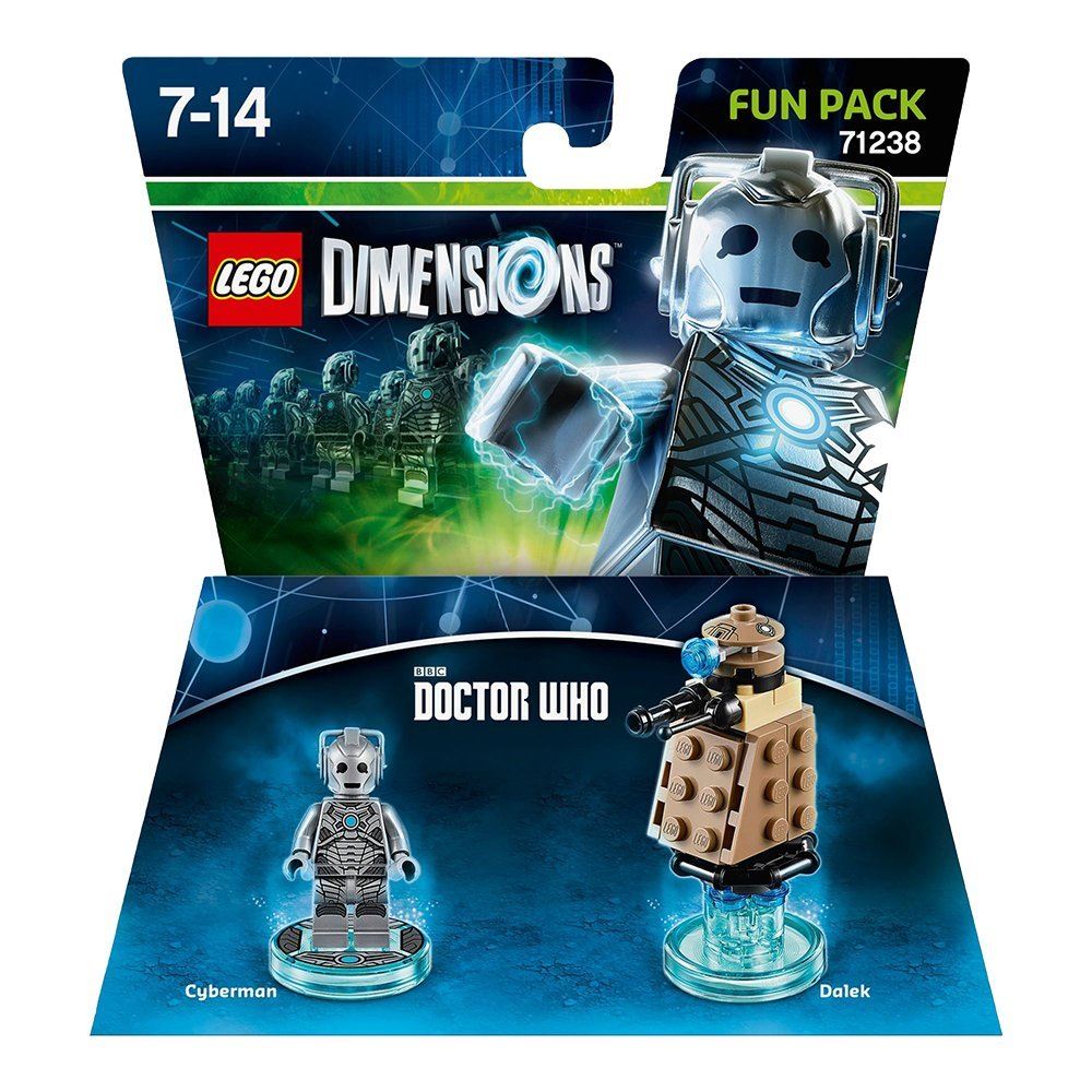LEGO Dimensions Cyberman Fun Pack Doctor Who 71238