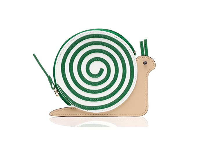 online store 4f85f a4d66 Kate Spade Turn Over A New Leaf Snail Coin Purse: Amazon.ca ...