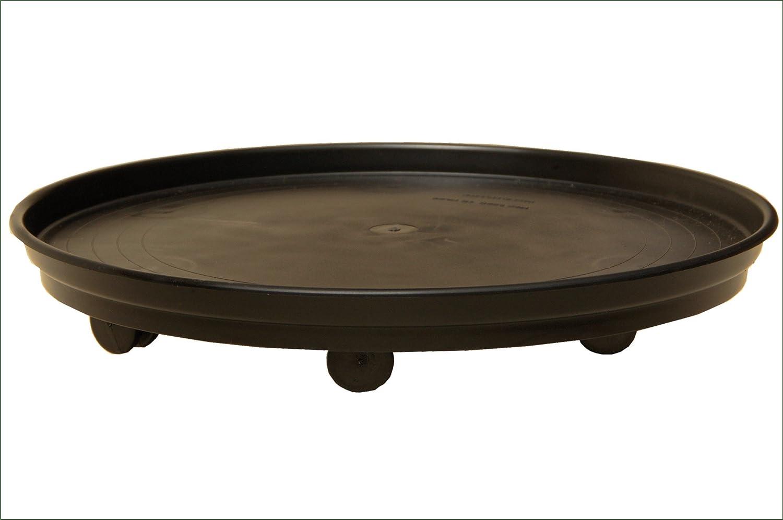 Plant Pot Mover (Black, Large 39cm) KP Plastics (UK) Ltd