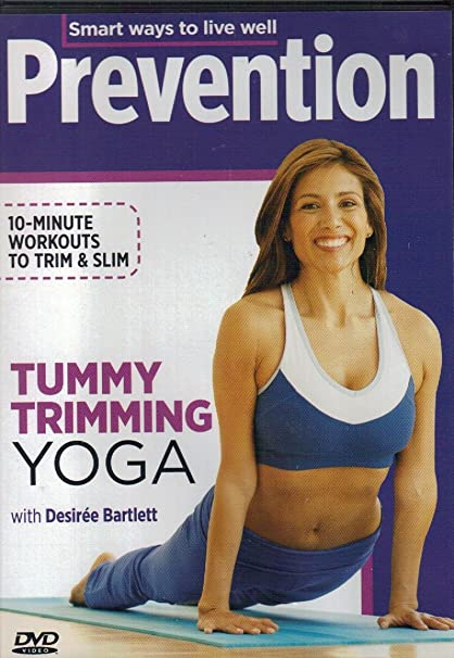 Amazon.com : Prevention Tummy Trimming Yoga DVD with Desiree ...