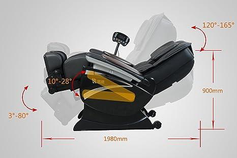 Zero Gravity Shiatsu Massage Chair EC01