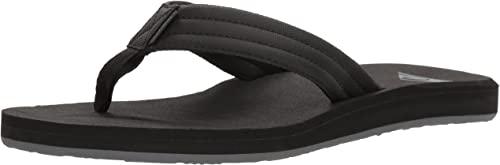 Black Quiksilver Carver Tropics Sandal New Grey