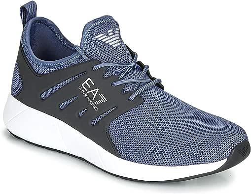 EMPORIO ARMANI EA7 Minimal Running U Zapatillas Moda Hommes Gris - 42 2/3 - Zapatillas Bajas: Amazon.es: Zapatos y complementos