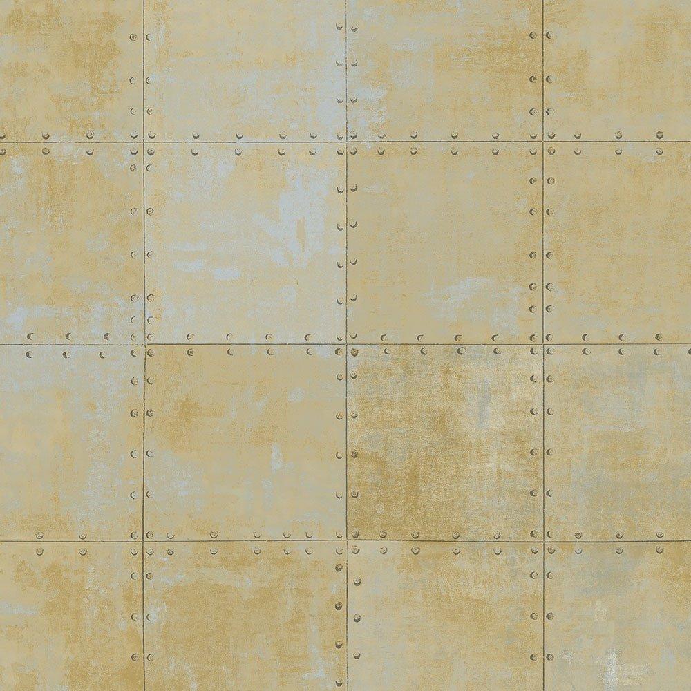 Norwall LL36229 Steel Tile Wallpaper