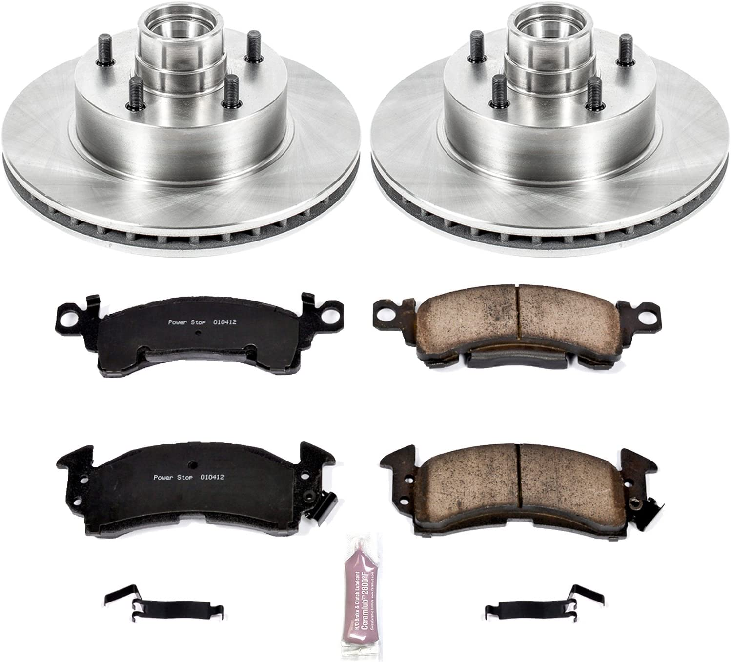 Autospecialty KOE4791 1-Click OE Replacement Brake Kit