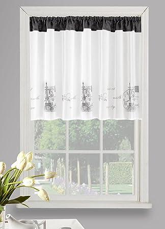 Amazon De Eurofirany Schone Fensterdekoration Ideal Vorhang Hxb