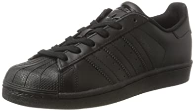 adidas Superstar Foundation J 724, Unisex Adults Trainers, Black (Core Black/