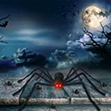 Halloween Decorations Giant Spider 4.1 ft with