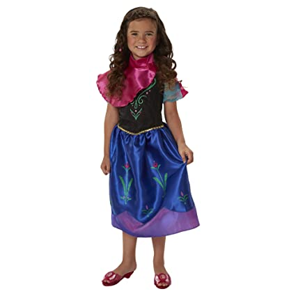 Disney Frozen Anna New Adventure Dress 4 6x