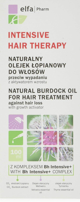 intensive hair therapy naturalny olejek łopianowy do włosów przeciw wypadaniu
