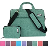 MKT Oxford Fabric Laptop Notebook Macbook Case Briefcase Bag Pouch Sleeve (15 inch, Green)