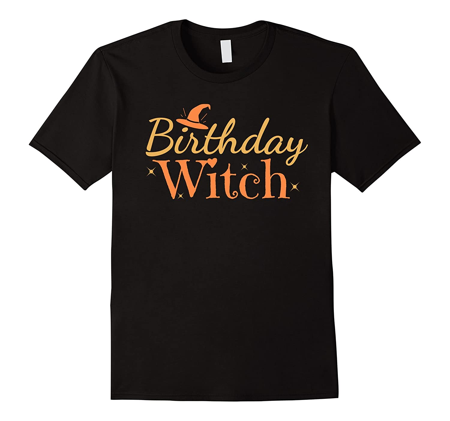 Birthday Witch Funny Halloween Shirt-ANZ