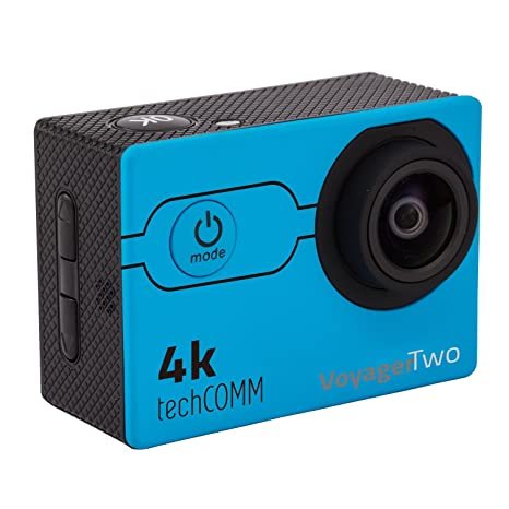 673b97bf487 Buy TechComm Voyager Two 4K 16MP Action Camera Sony CMOS Sensor Fish Eye  Online at Low Price in India