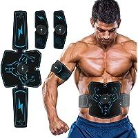 EMS Stimulator buikspiertrainer trainer, indoor USB oplaadbaar 6 modi 10 niveaus ultieme EMS-trainingsapparaat…