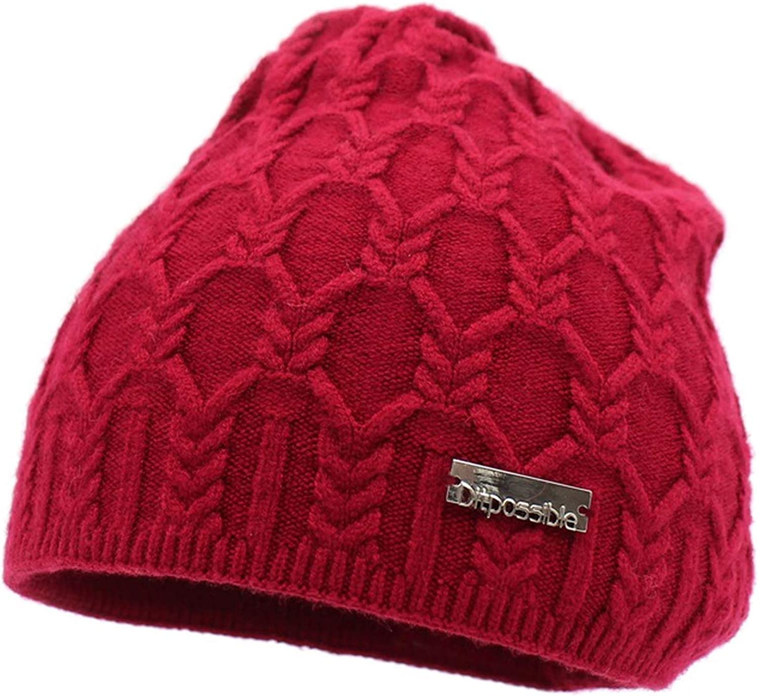 Wension Girls Winter Hats Fashion Knitted Beanies Bonnet Skullies Female Cap Gorro Wool hat for Women