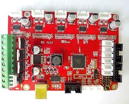 Placa base DIY compatible con Arduino impresora 3D HICTOP Junta de ...