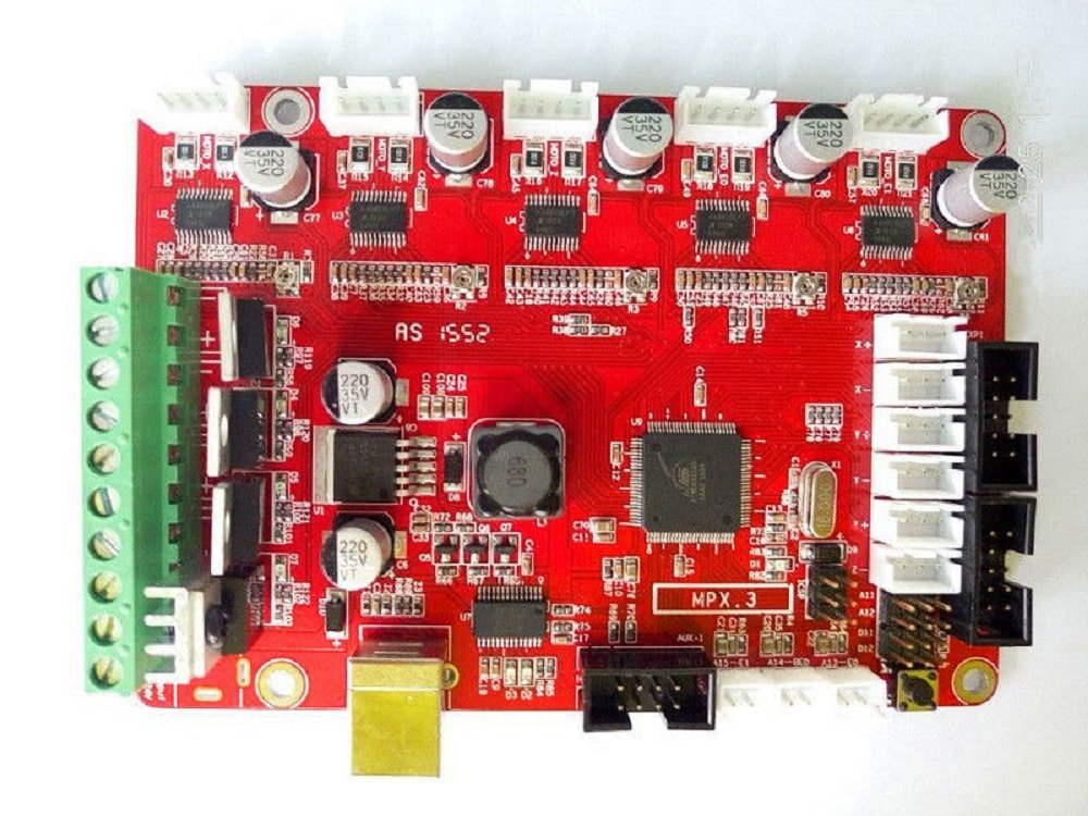 HICTOP 3D-Drucker Mainboard Control Board 3D Printing Desktop-Ersatzteile Zubehö r MKS Basis V1.3 1.4 RepRap Arduino-kompatible 3D-Panel Hochleistungs CNC DIY Selbstmontage Motherboard MB01