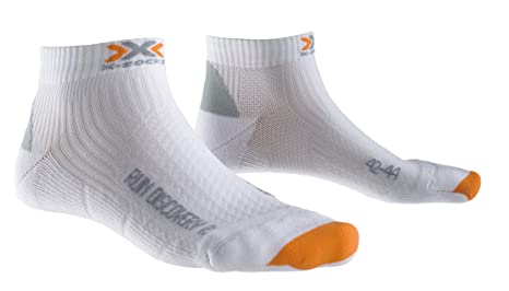 X-Socks Laufsocken Run Discovery New - Calcetines para hombre, color blanco, talla