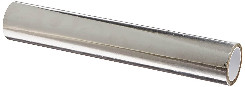 "3M 3380 Silver Aluminum Foil Tape, 12"" Width x 5yd Length (1 roll)"
