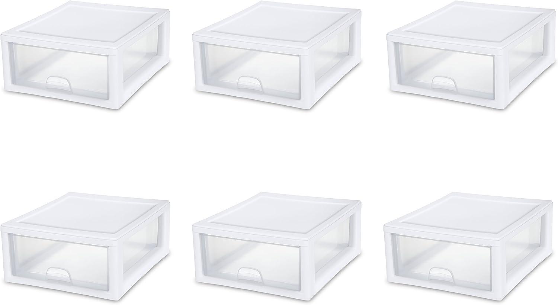 Sterilite 23018006 16 Quart/15 Liter Stacking Drawer