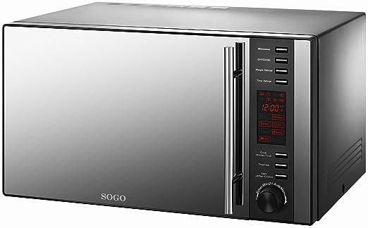 Gril microondas - Digital - 25L - 1000 W: Amazon.es: Hogar