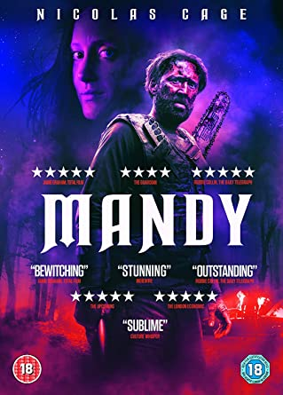 Mandy (DVD) [2018]: Amazon co uk: Nicolas Cage, Andrea