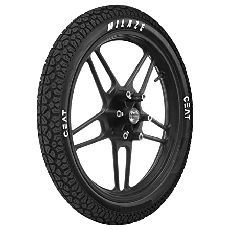 Ceat Milaze 2.75-18 48P Tubeless Bike Tyre, Rear (Home Delivery)