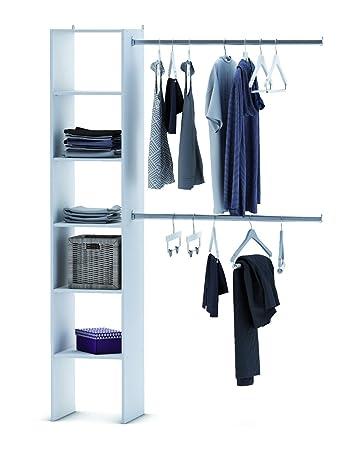 kleiderschrank offen 6735 begehbar regal kleiderstander schrank weia garderobe begehbarer staubschutz
