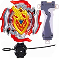 Gyro Battling Beyblade Burst B-105 Z Achilles .11 . XT Balance Starter Spinning Top with Launcher Set