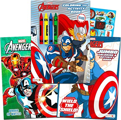 Super Hero Colour In Lunch Boxes Crayons *Party Boxes* x 5 x 10