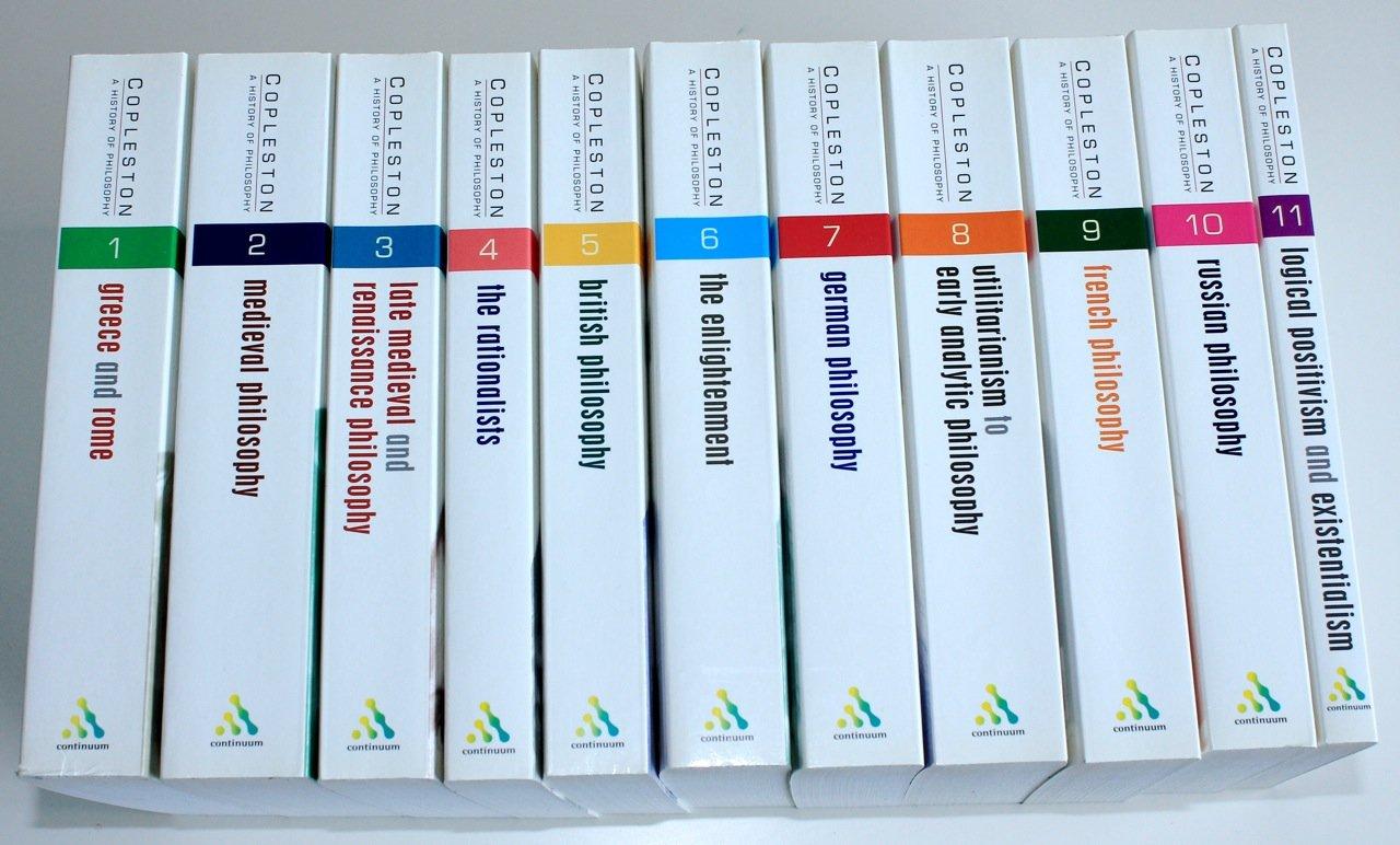 History Of Philosophy Vols 1 11 Amazon Co Uk Frederick C