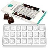 O'Creme Molde de policarbonato transparente para chocolate (caja de regalo)