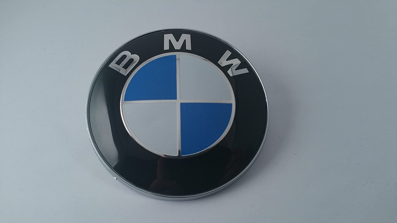 Bmw Blau Weißes Emblem 82 Mm 8 2 Cm Für Motorhaube Emblem Selbstklebend Auto