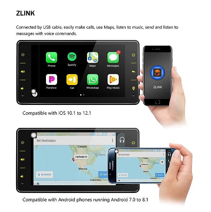JOYFORWA - Radio para Coche (Android 8.1, 1 DIN, Pantalla ...