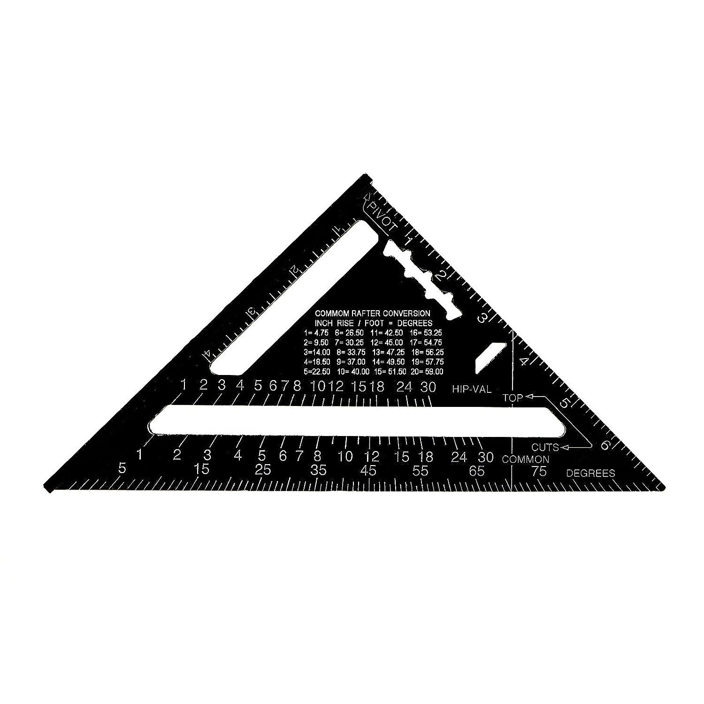 Premium Aluminum Alloy Quick Easy Square Layout Tool 7 In