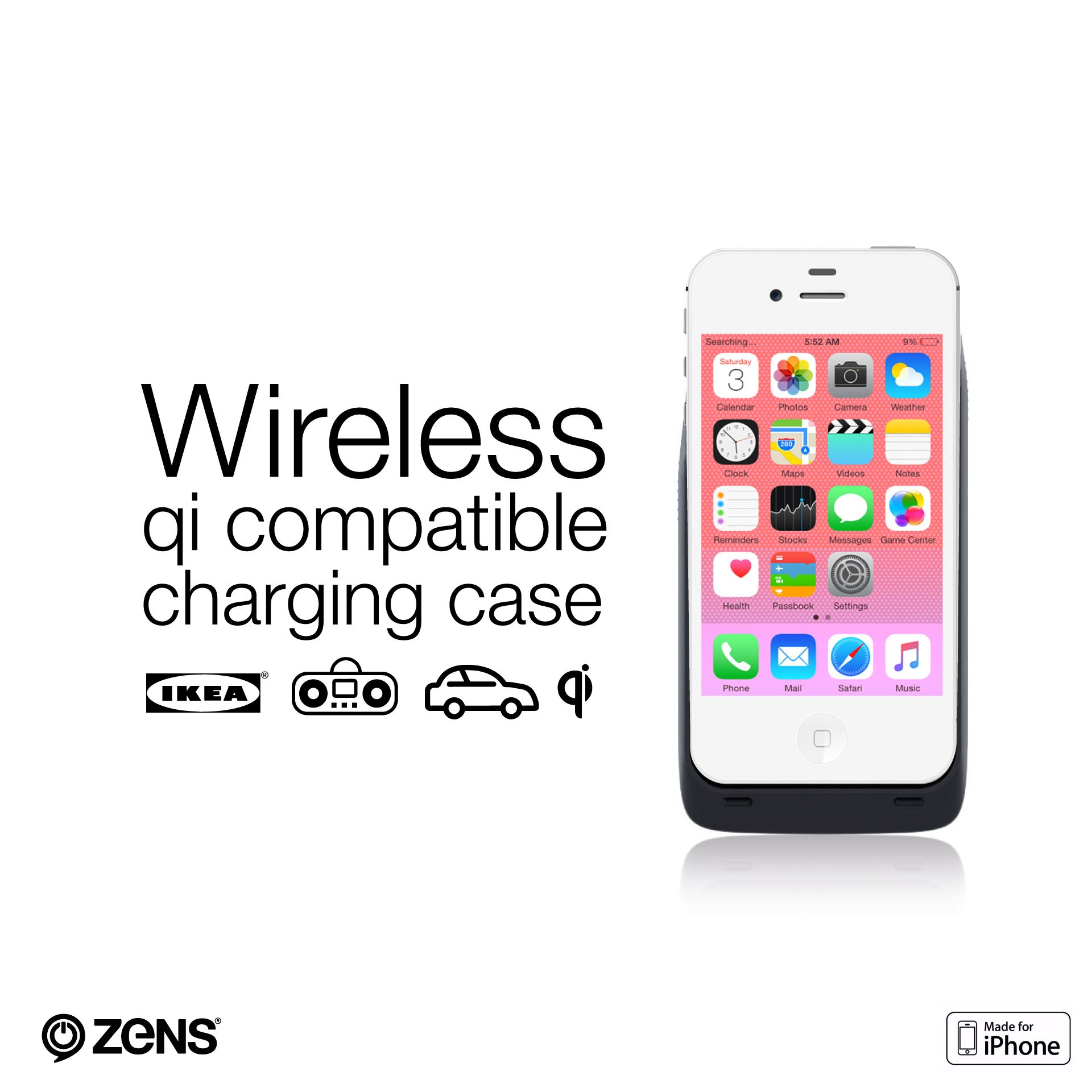 Zens Iphone Wireless Charging Case Loseweightfast