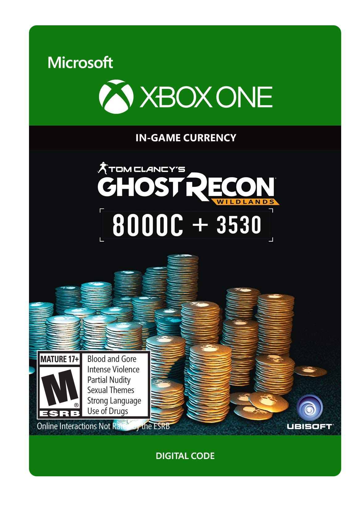 Tom Clancy's Ghost Recon Wildlands Currency pack 11530 GR credits - Xbox One [Digital Code]