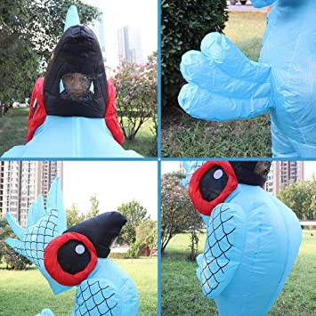 Amazon.com: Inflatable Costumes for Adults Parrot Blow up ...