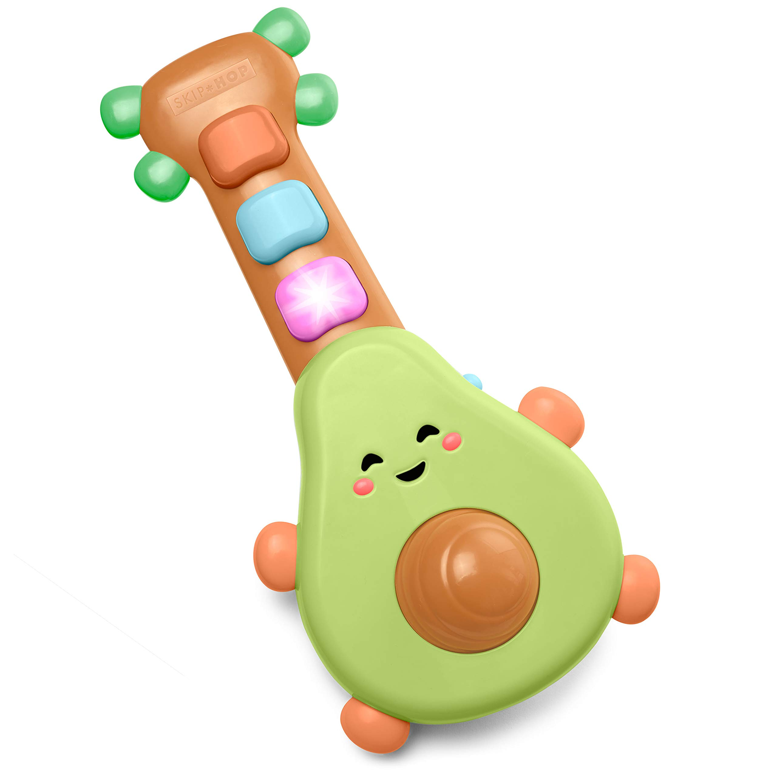 Skip Hop Baby Guitar Developmental Musical Toy, Farmstand Rock-A-Mole Guitar by Skip Hop
